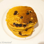 Jack-o-Lantern Pancakes with TruMoo Orange Scream Milk