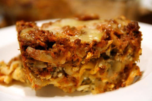 Tiffany's Hearty Lasagna