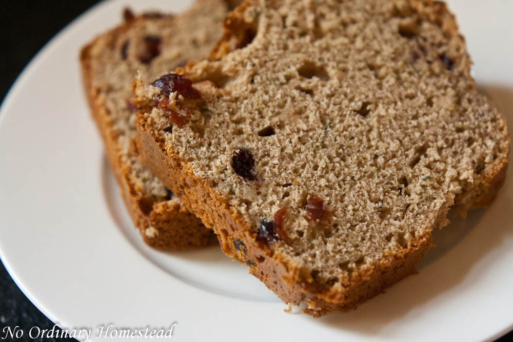 Easy & healthier recipe for zucchini bread