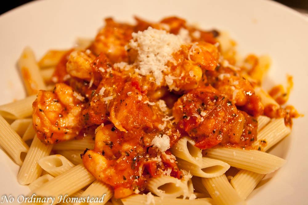 Spicy Shrimp & Tomato Pasta – Shrimp Fra Diavolo