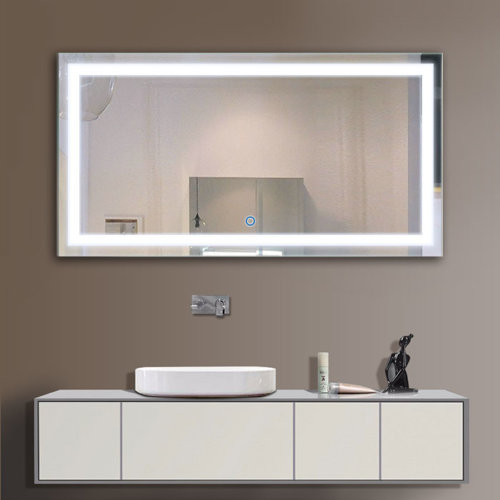 Spectacular Let us glance through LED mirrors as a suitable accessory that can change the look of your bathroom or vanity region