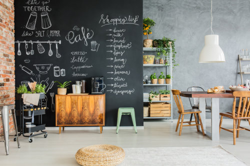 Perfect Here Are Just A Few Of The Ideas That You Can Bring To Life When Playing  Around With Chalkboard Kitchen Decor.