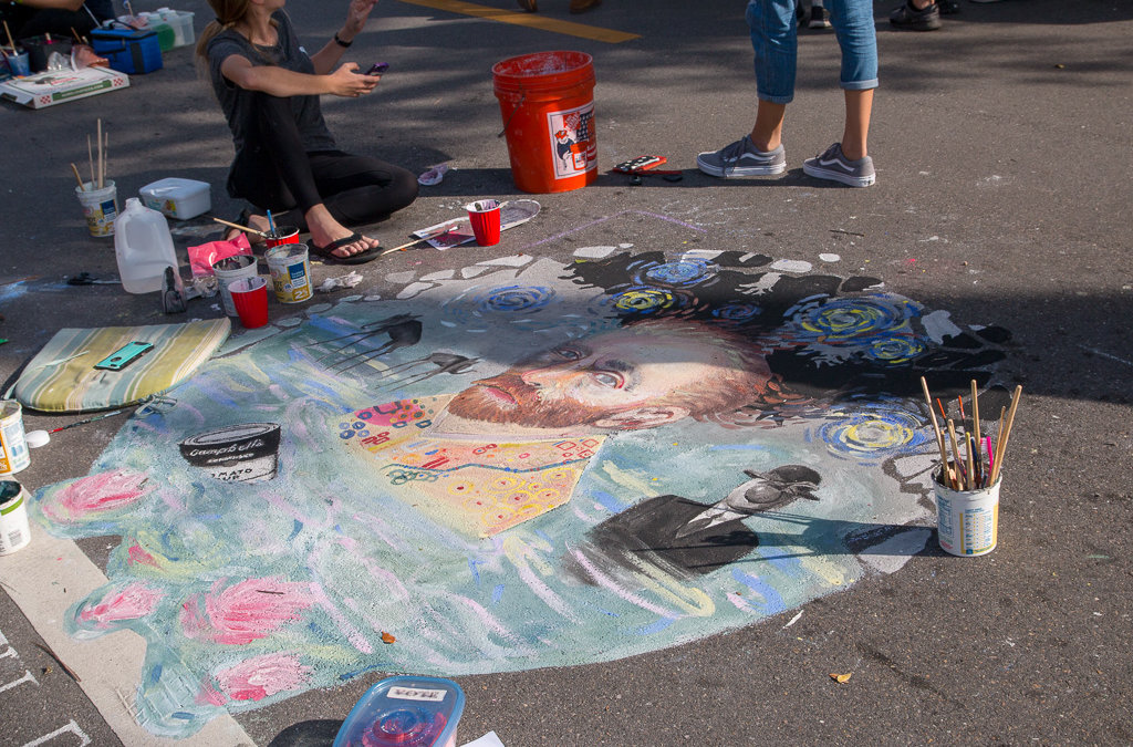 Naples Chalk Art on 5th Avenue 2018