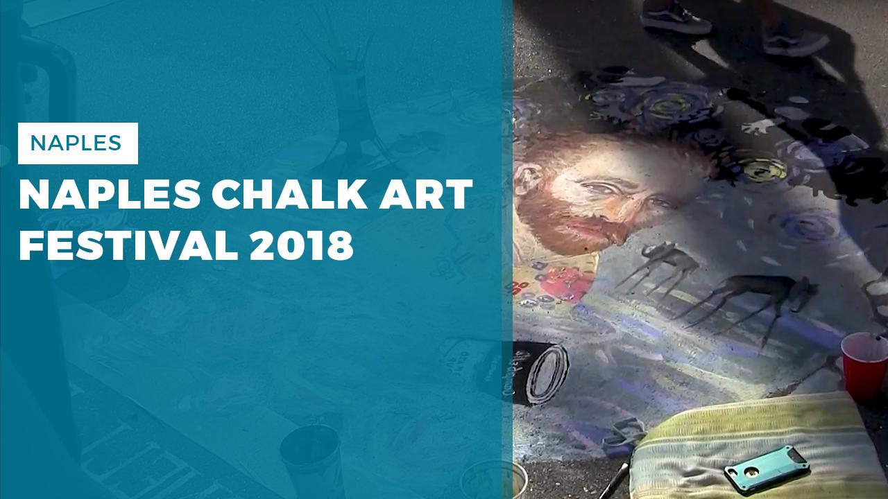 naples chalk art festival 2018