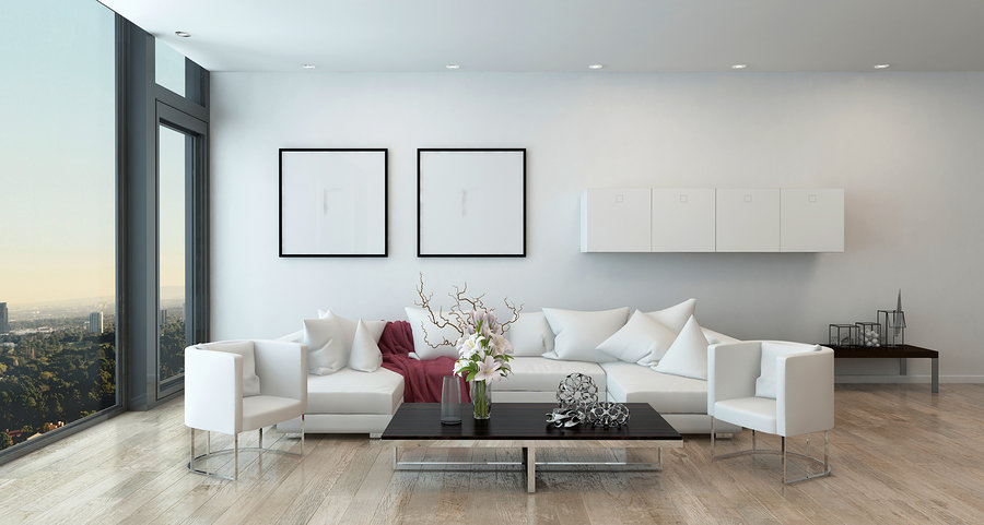 Architectural Interior Living Room Design