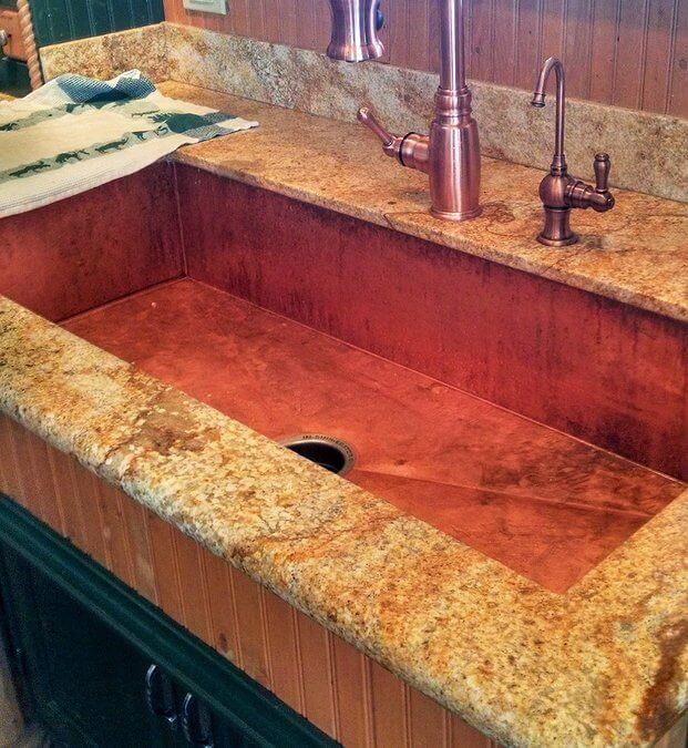The Top 3 Advantages of Using a Copper Sink