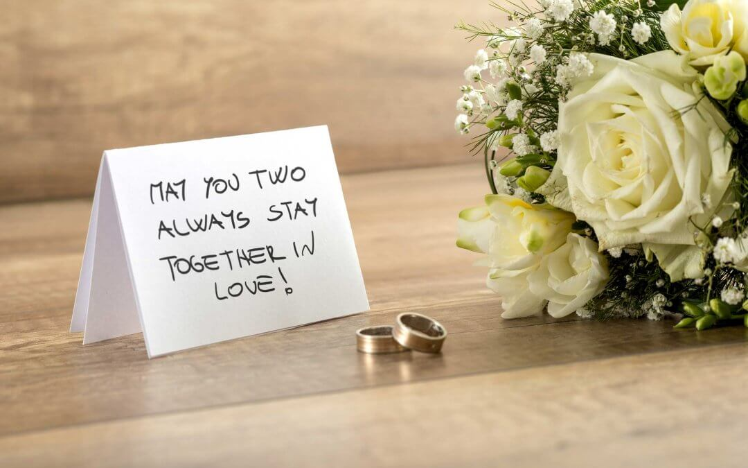 20 POSITIVE WEDDING WISHES & QUOTES YOU CAN USE