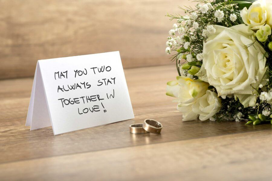 20 Positive Wedding Wishes Quotes You Can Use No