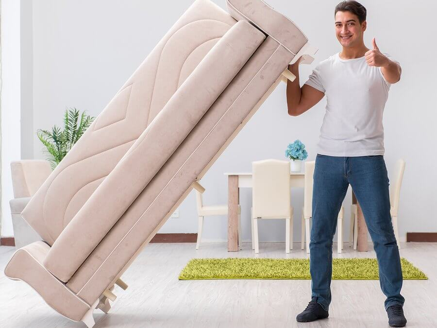 Secrets to Moving Large Furniture By Yourself