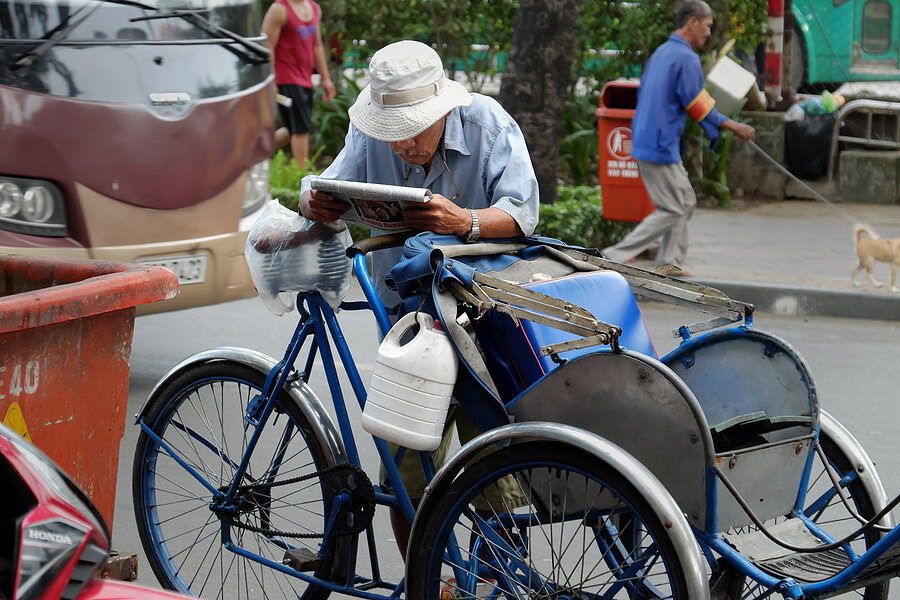 Safe and Comfortable Tricycle for Seniors