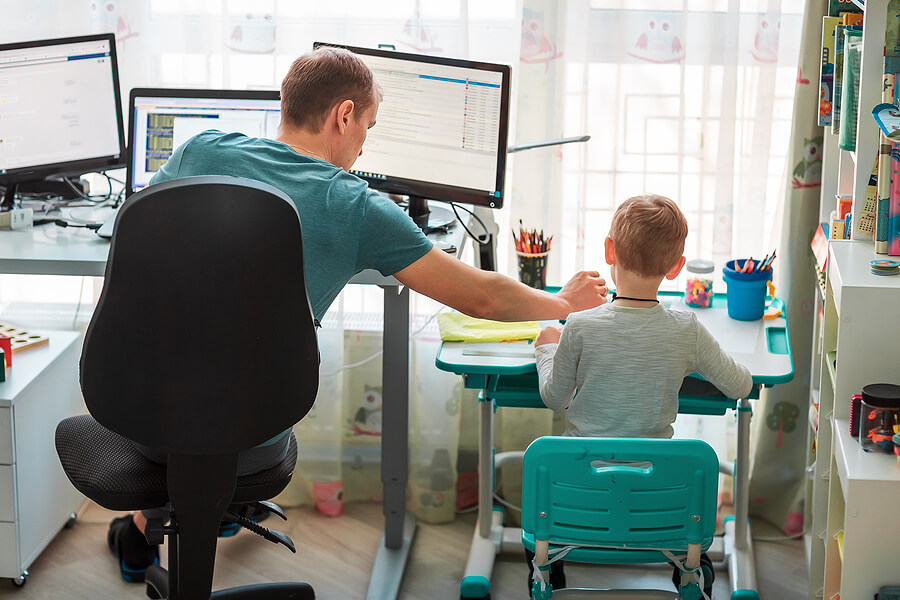 How to Keep Your Cool When Working From Home and Parenting